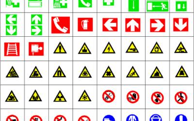 Segnaletica di sicurezzaluoghi di lavoro, ecco inuovisegnali nella prevenzione infortuni e nelle evacuazioni di emergenza